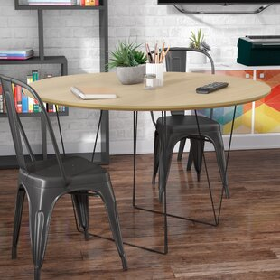 Great Price Loganne Circular 29H x 47W x 47L Conference Table By Ivy Bronx