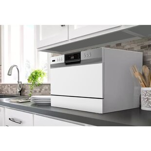 Portable LED 22 54 dBA Countertop Dishwasher by Whynter