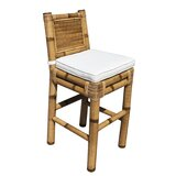 Kauai 31 Bar Stool with Cushion by Panama Jack Sunroom