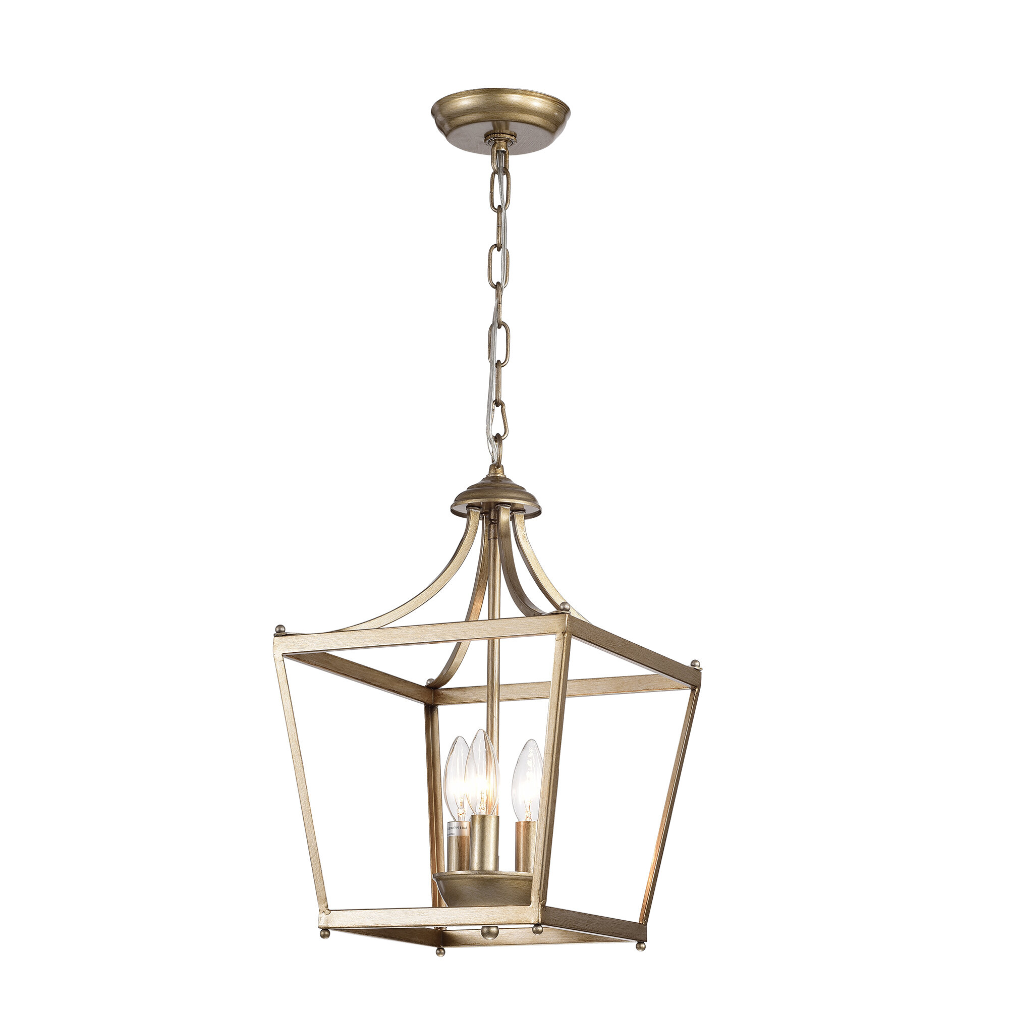 Charlton home planas 3 light lantern pendant reviews wayfair