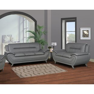 Compare Polston Modern 2 Piece Living Room Set by Latitude Run Reviews (2019) & Buyer's Guide
