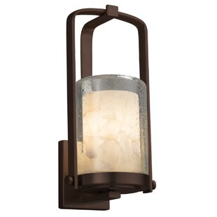 Bargain Conovan 1-Light Outdoor Sconce By Rosecliff Heights