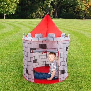 Medieval Castle Kids Pop-Up Play Tent & Kids Pop Up Tent | Wayfair