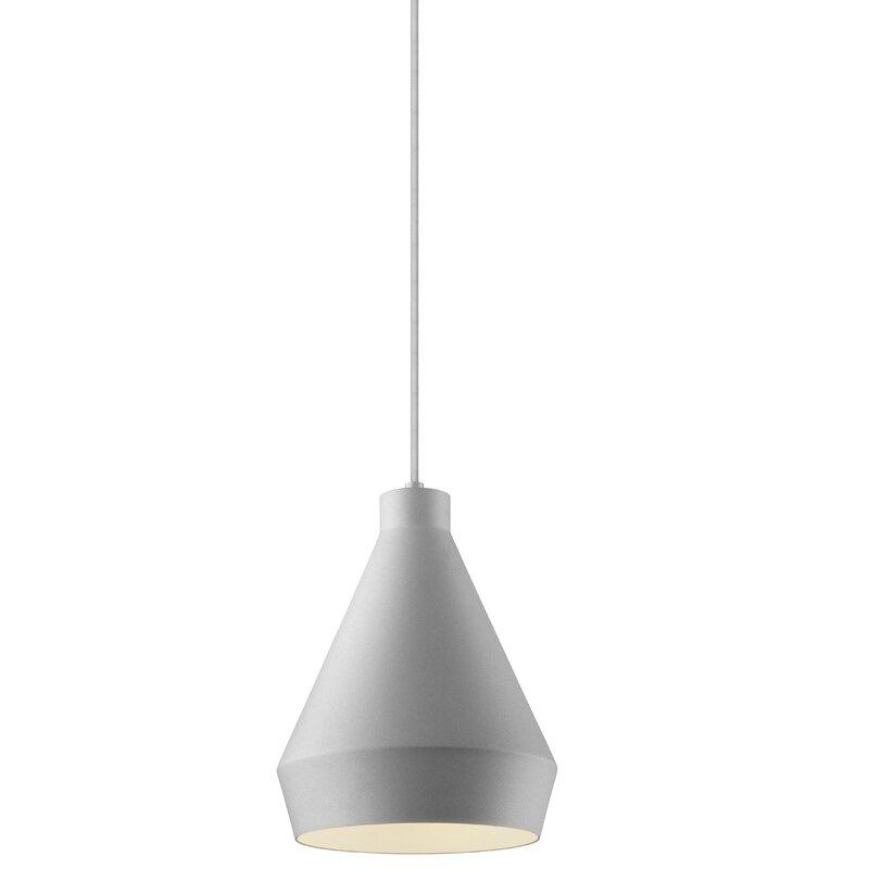 Sonneman Koma 1 Light Single Cone Pendant Wayfair