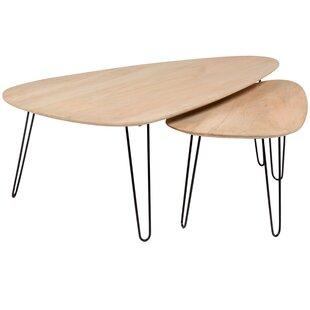 Union Rustic Laverty 2 Piece Nesting Tables