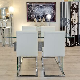 Frances Dining Set With 4 Chairs By Wade Logan