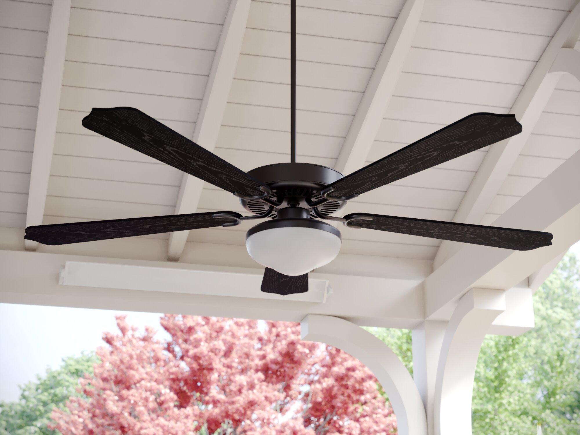 "Fleur De Lis Living 52"" Beaton 5 Blade Outdoor Ceiling Fan"