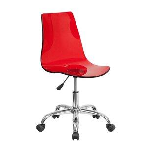 Wonderful Clear Acrylic Desk Chair | Wayfair