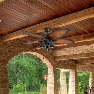 Compare prices 52 Wrightsville 5 Blade LED Ceiling Fan By Bay Isle Home
