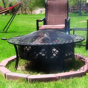 Red Barrel Studio Jefferies Steel Fire Pit