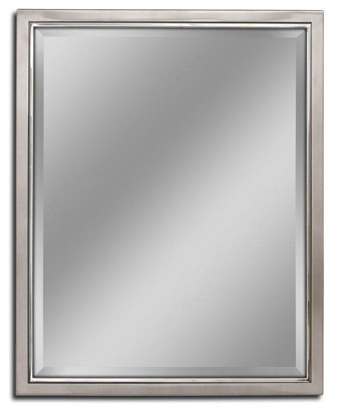 Red Barrel Studio Kennith Classic Metal Framed Bathroom/Vanity Wall ...