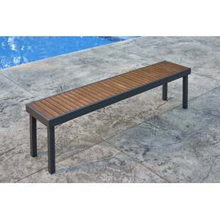 Kenwood Aluminum Teak Picnic Bench