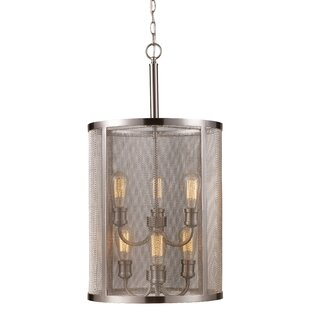 17 Stories Filipe 6-Light Cylinder Pendant