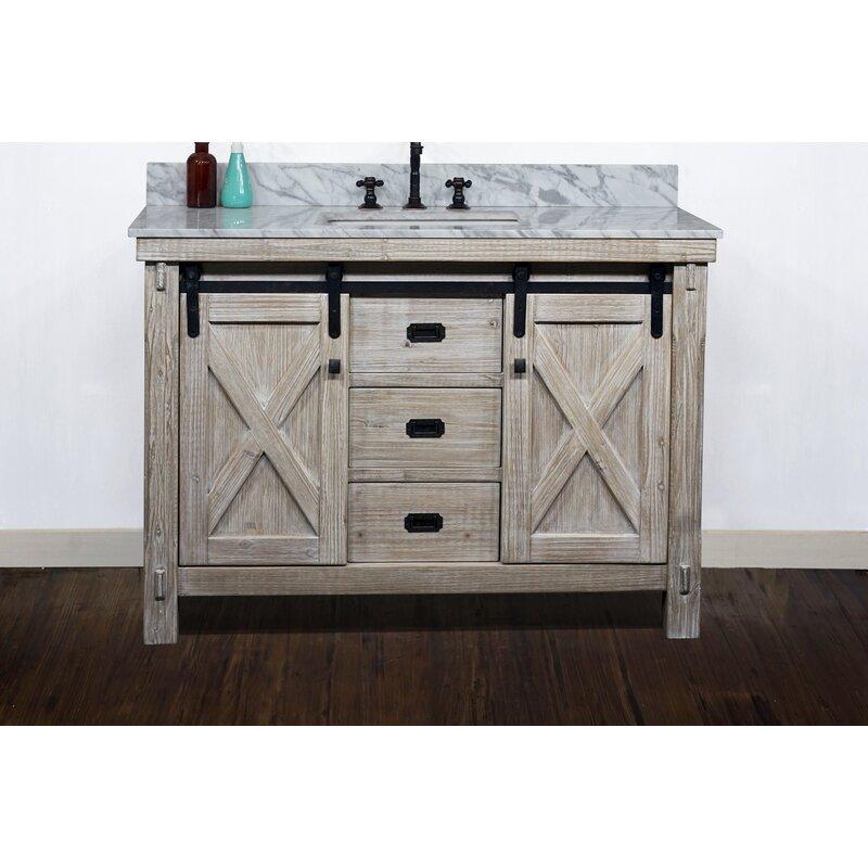 Gracie Oaks Dursley 49 Single Bathroom Vanity Set Wayfair