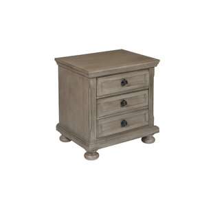 Price comparison Willesden 3 Drawer Nightstand by Greyleigh Reviews (2019) & Buyer's Guide