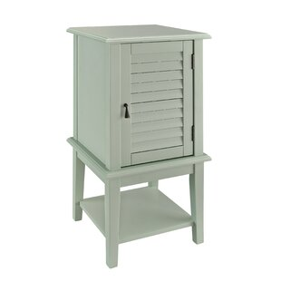 Highland Dunes Bayville Shutter End Table