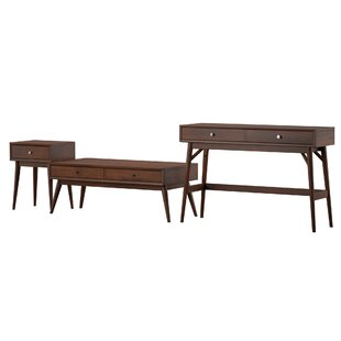 Norberg 3 Piece Coffee Table Set