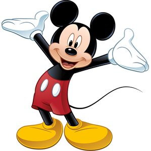 Mickey Mouse Wall Art minnie and mickey wall art | wayfair