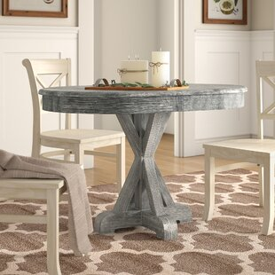 Genoveva Solid Wood Dining Table Birch Lane™ Heritage