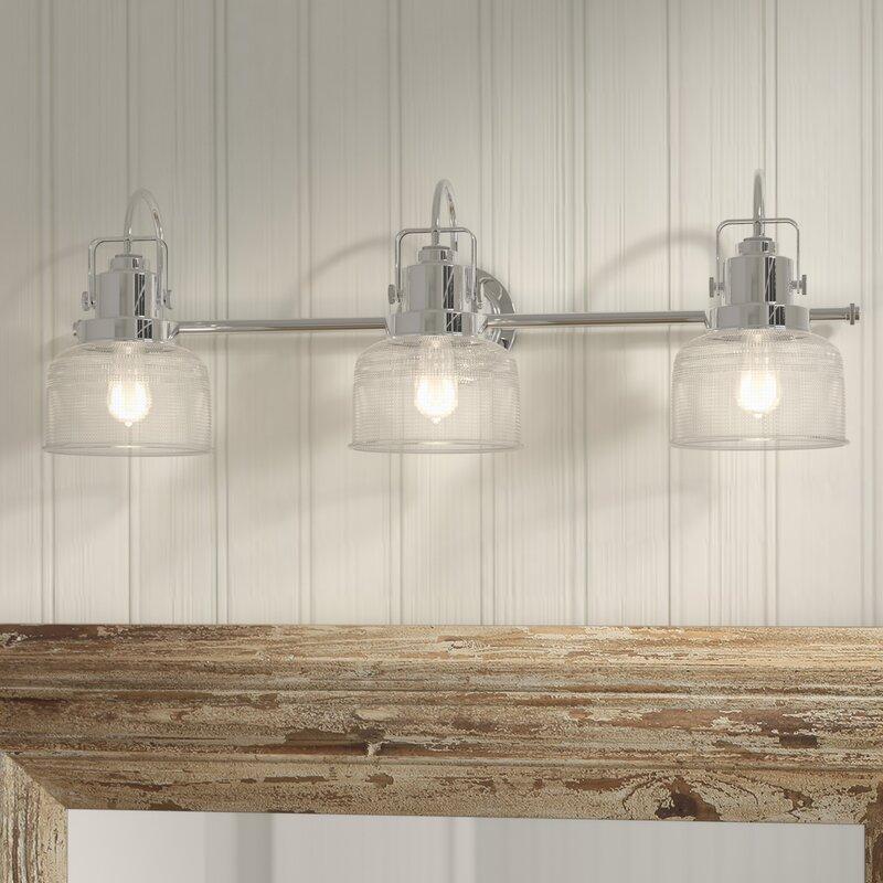 Birch Lane Kost 3 Light Dimmable Vanity Light Reviews Wayfair