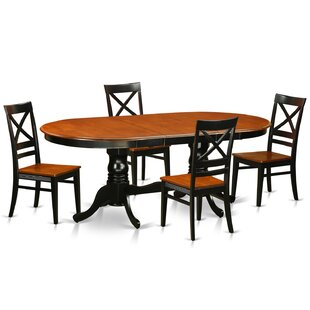 Germantown 5 Piece Dining Set by DarHome Co Discountt