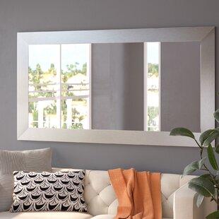 Hecuba Rectangle Full Length Wood Framed Mirror
