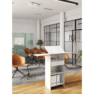 Middlebrooks Height Adjustable Standing Desk By Mercury Row