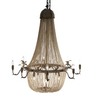 Zentique Afra 12-Light Chandelier