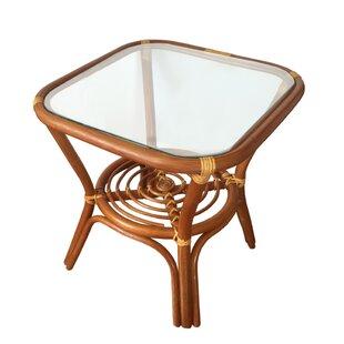Michaud Rattan Wicker Square Coffee Table..