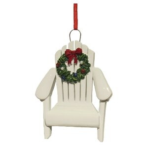 Resin Adirondack Chair Ornament