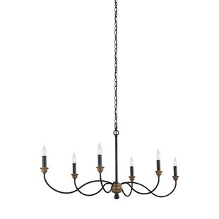 Homestown 6-Light Chandeli..