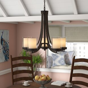 Cheyne 5-Light Shaded Chandelier by World Menagerie