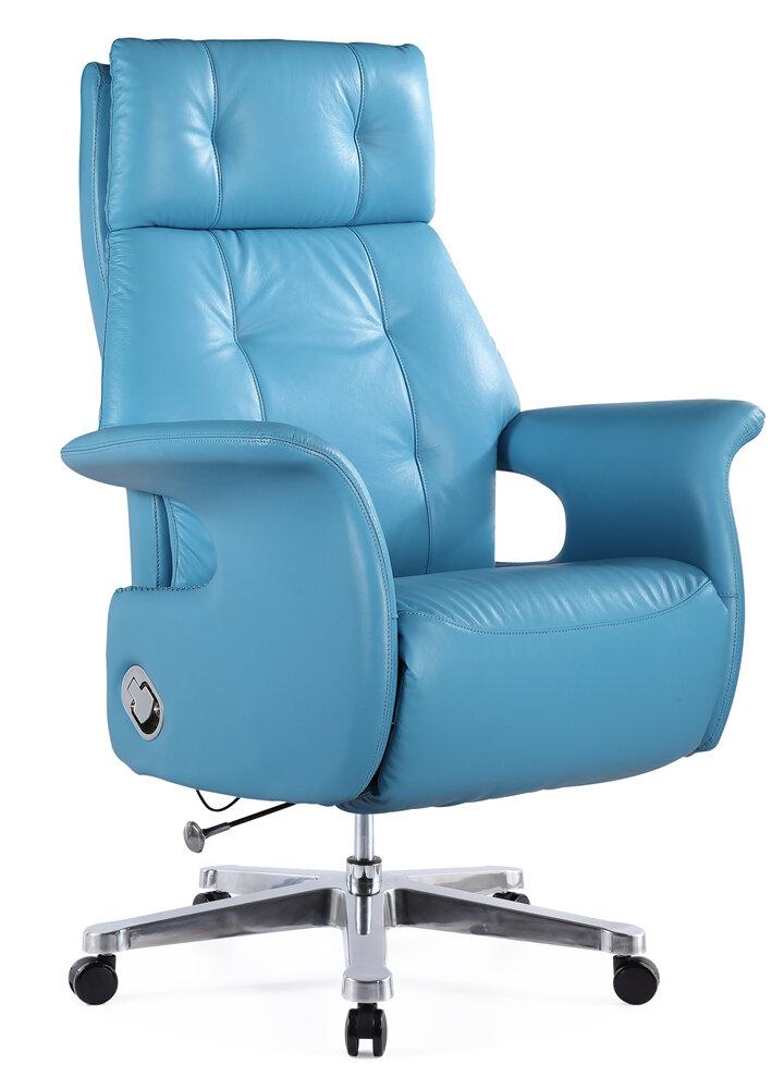 Fine Mod Imports Felica Genuine Leather Executive Chair Wayfair