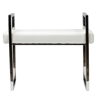 Langston Faux Leather Bench