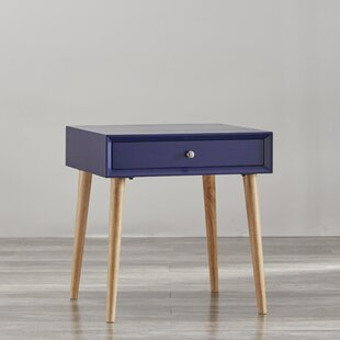 Blakeney End Table with Storage by Mercury Row