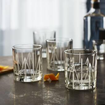 Bay Isle Home Curtsinger 14 Oz Crystal Whiskey Glass Wayfair