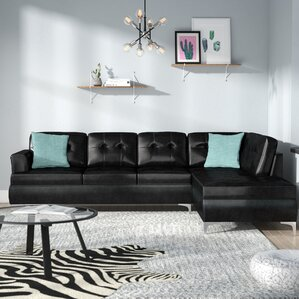 Aura Sectional by Ivy Bronx
