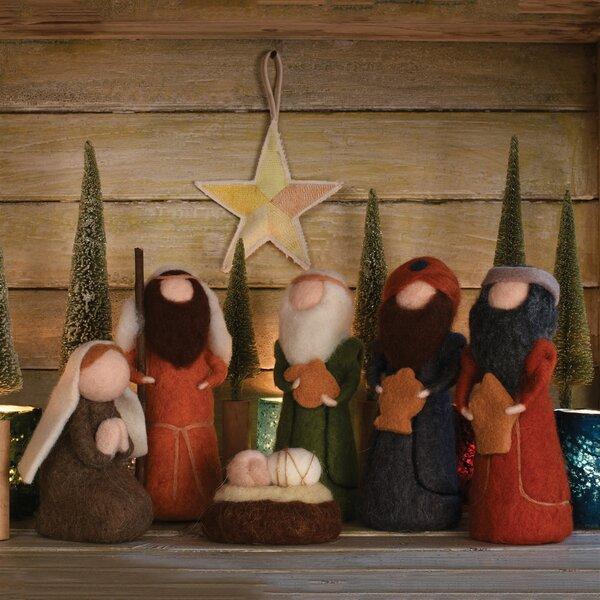 Felt Nativity Set Wayfair