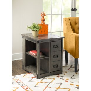 Jordy End Table with Storage