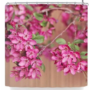 Sylvia Cook April Single Shower Curtain