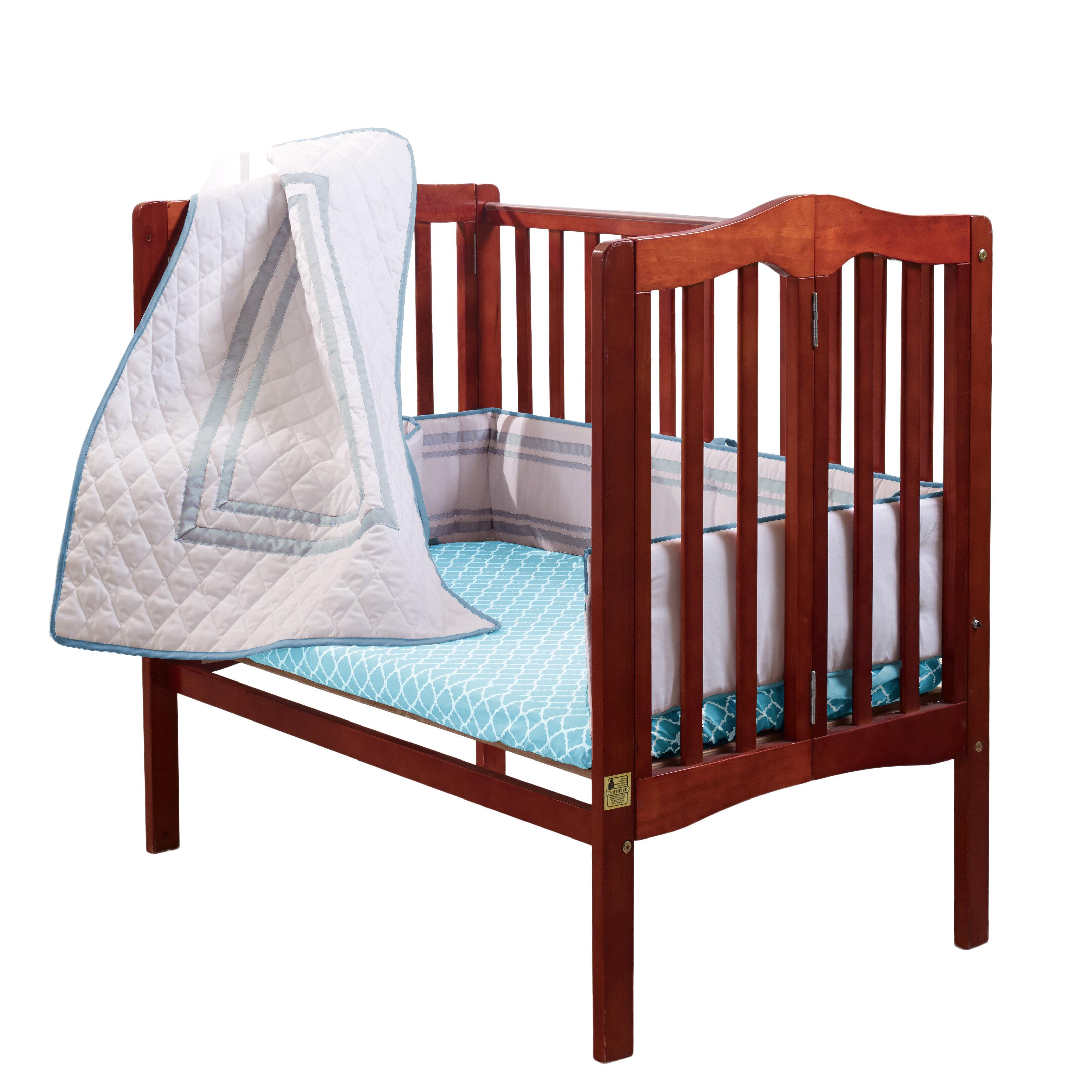 Baby Doll Bedding Candyland Cradle Bedding Set Blue