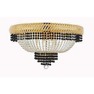 Rosdorf Park Frey 12-Light Flush Mount