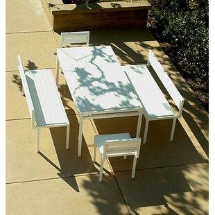 Talt 5 Piece Dining Set by Modern Outdoor