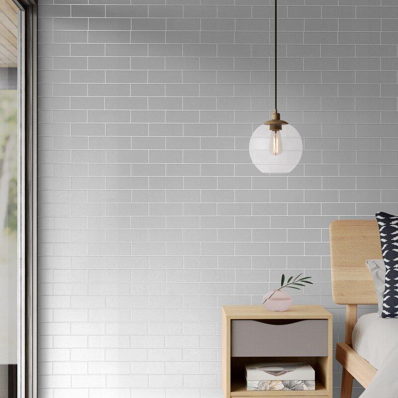 Cason Subway Tile 33 L X 20 5 W Wallpaper Roll Reviews Allmodern