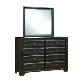 Affordable Price Jordin 8 Drawer Double Dresser by Latitude Run