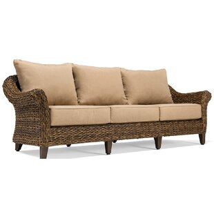Beckwith Patio Sofa with Cushion by Canora Grey