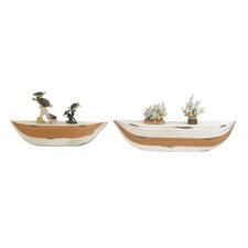 2 Piece Floating Shelf Set by Cole & Grey