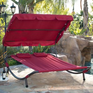 double chaise lounge