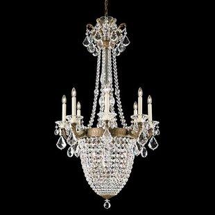 Schonbek La Scala 11-Light Empire Chandelier