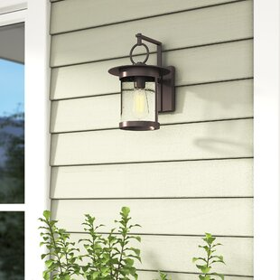 Andover Mills Brick 1-Light Outdoor Wall Lantern